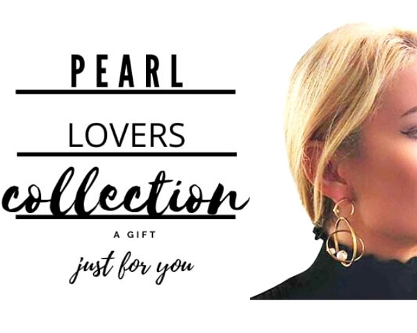 pearl lovers jewelry collection by Aikaterini Chalkiadaki