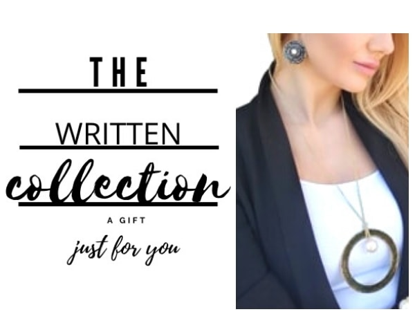 written jewelry collection by Aikaterini Chalkiadaki